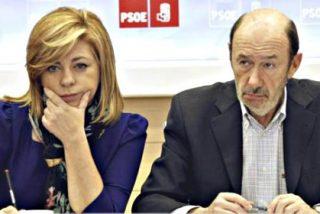 El 'capricho' europeo de Elena Valenciano mete en un gran lío a Rubalcaba