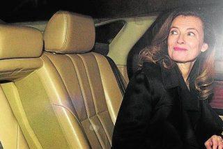 El vídeo de la primera aparición pública de Valérie Trierweiler tras ser corneada por Hollande