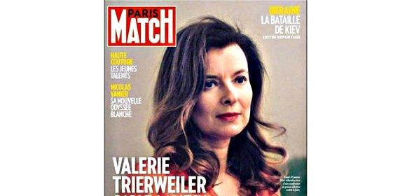 """Valerie Trierweiler: """"Cuando descubrí [que Hollande me ponía los cuernos], fue como si cayese de un rascacielos"""""""