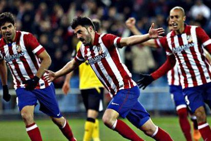 El Atlético de Madrid deja escapar una opotunidad de oro de ponerse líder solitario