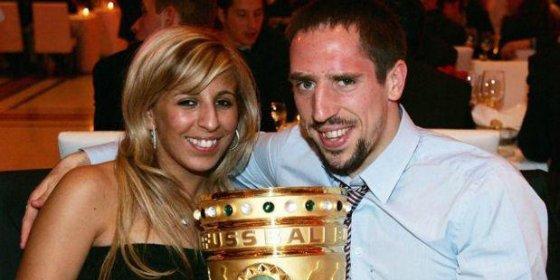 Critican, por fea, a la mujer de Ribery
