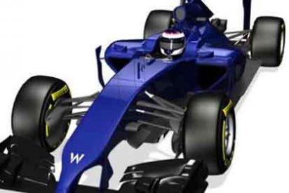 Williams presenta su nuevo coche