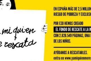 Uno de cada tres niños españoles vive en riesgo de pobreza o exclusión