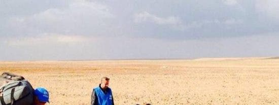 Marwan, el niño de 4 años que nunca atravesó sólo el desierto huyendo de la guerra