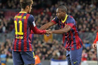 España y Mali, 'a tortas' por un jugador del Barcelona