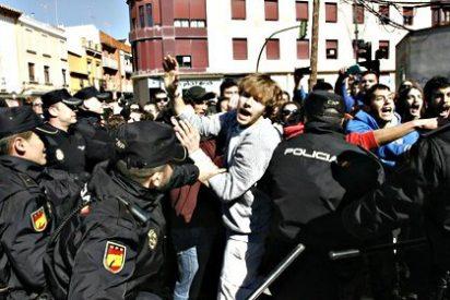 Tres manifestantes detenidos y un policía herido en la protesta del agua de Alcazar de San Juan