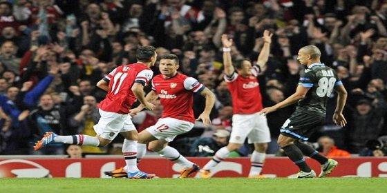 El Arsenal de Özil se venga del Liverpool