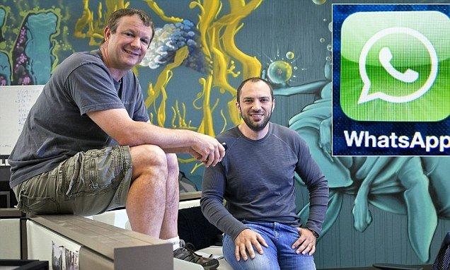 A la pareja que se ha forrado con la venta de WhatsApp no les quiso...¡ni Facebook!