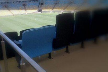 Los gordos tendrán un asiento especial en el Mundial de Brasil