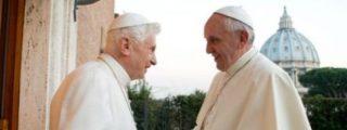 """Francisco sobre Benedicto: """"Un hombre valiente y humilde"""""""