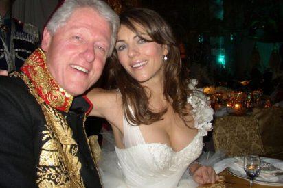 Liz Hurley saca las uñas y desmiente que estuviese liada con el pícaro Clinton