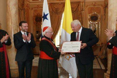 Cañizares, máxima condecoración de Panamá