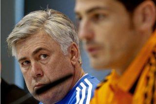 Ancelotti pidió perdón a Casillas por las declaraciones inadecuadas de su hija