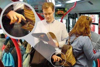 ¡Ojo con las 'muletas' en el bus! Pueden tomarle por un becerro y 'torearle' la cartera