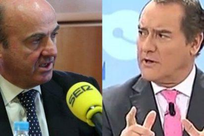 """Antonio Jiménez: """"No entiendo por qué el Señor De Guindos pasa por la SER o laSexta cada dos por tres y a 13TV no viene"""""""