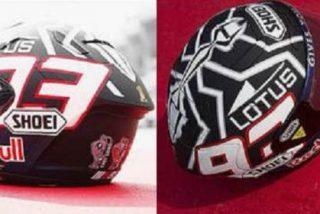 Así es el nuevo casco de Márquez