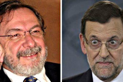 Juan Luis Cebrián y Mariano Rajoy escenifican en público el romance Gobierno-Grupo PRISA