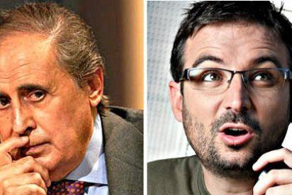 El 'cochino' de Jordi Evole se pica en Twitter con Jaime Peñafiel por escribir de él que no se lava