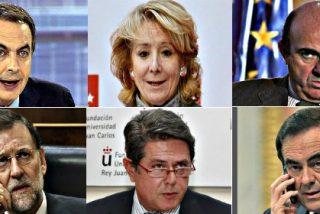 Los 'pilladas' a los políticos españoles: Guindos, Rajoy, Aguirre, Bono...