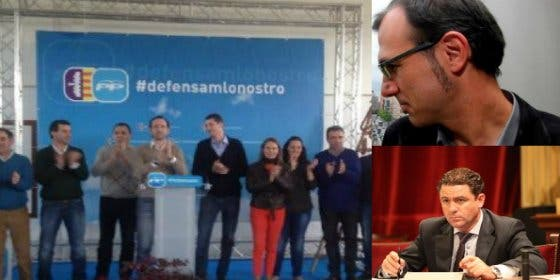 ¿Se le coló al PP la bandera de Mallorca junto al logo, o se creen que somos miopes?