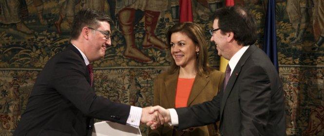 Maria Dolores Cospedal da 5,6 millones a la Universidad de Alcalá para saldar la deuda