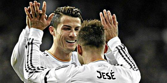 Jesé hará de Cristiano Ronaldo en el partido del Real Madrid contra el Villareal