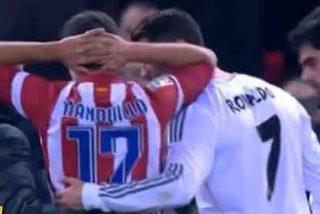 El mensaje de Cristiano Ronaldo a Manquillo tras su fea caída