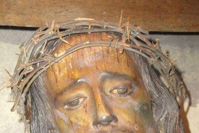 Las lágrimas milagrosas del Cristo de La Caña