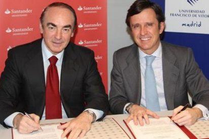 Santander y Universidad Francisco de Vitoria premian a los 50 mejores estudiantes de Bachiller