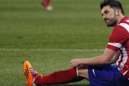 El resultado de la lesión de David Villa