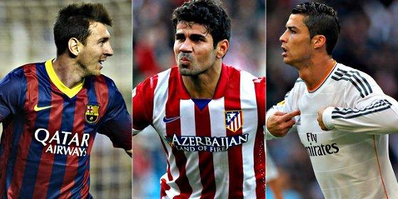La Liga más igualada en 30 años: Barça, Atleti y Real Madrid están empatados a 57 puntos