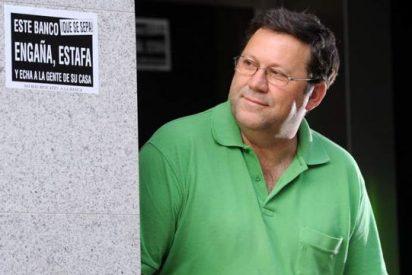 "El ""curaflauta"" de Murcia entrega a TSJM un manifiesto anti-desahucios"