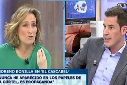 """Isabel Durán pone en su sitio al socialista Juan Segovia: """"No vas a volver a 'Más claro agua', no quiero este show de matones"""""""