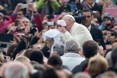 Francisco y el niño Papa