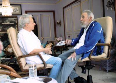 Fidel Castro se reunió con Frei Betto el pasado domingo