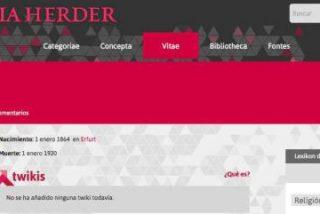 Nace la Encyclopaedia Herder, una enciclopedia online del SXXI