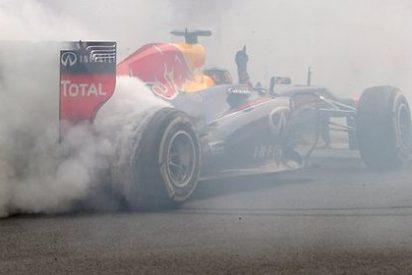 La F1 legaliza los donuts