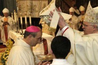 Jesús Fernández en su consagración como auxiliar de Santiago: