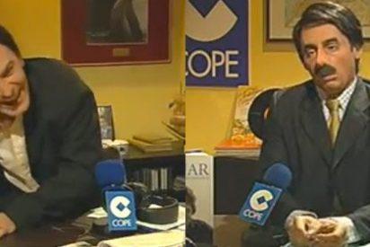 """Jiménez Losantos: """"Al CAC no le molesta que me saquen en Polonia haciéndole una felación a Aznar"""""""