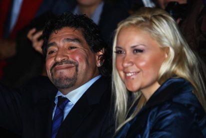 Maradona le 'mete un gol' a su pareja dejando embarazada a una exnovia...y van seis