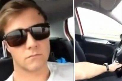 El 'loco del volante' se entrega a la Policía arrepentido por la hazaña de su vídeo