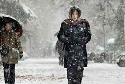 Aviso por nieve este lunes en cuatro provincias de Castilla-La Mancha