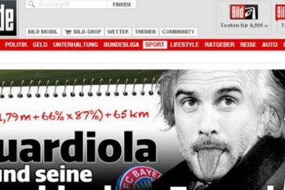 Guardiola protagoniza la imagen más comentada en Alemania