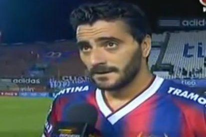 Así dedicó Güiza su gol a Luis Aragonés