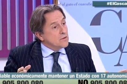 """Hermann Tertsch pone fino al cine español: """"Los Bardem se abrazan a los despedidos de Coca-Cola pero no se acuerdan de los suyos"""""""