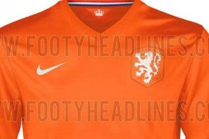 Así vestirá Holanda en el Mundial de Brasil