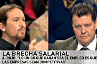 """Alfonso Rojo a Iglesias: """"Cobrar 300.000 de un régimen que mata a la gente te debería poner colorado"""""""