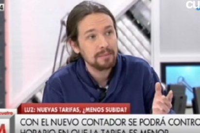 """Pablo Iglesias saca a pasear su chavismo: """"Nacionalizar la energía es una opción"""""""