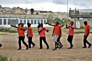 Los policías piden ayuda para afrontar 'la brutal presión migratoria' sobre Ceuta y Melilla
