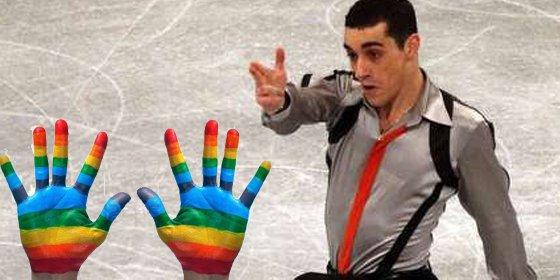 Gays y lesbianas piden la 'cabeza' del deportista español